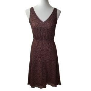 BROADWAY & BROOME Madewell Silk Hi Low Dress